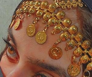 arabian, eyes, and girl image