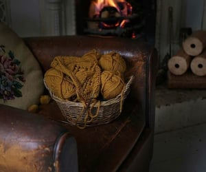 autumn, fireplace, and molly weasley image