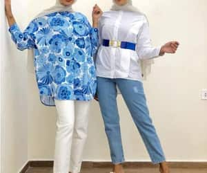 blouse, tunic, and hijab fashion image
