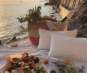 picnic and sea image