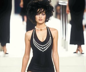 chanel, details, and model image