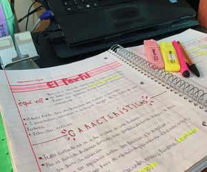 Estudio, notes, and notas image