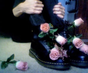 aesthetic, creepy, and doc martens image