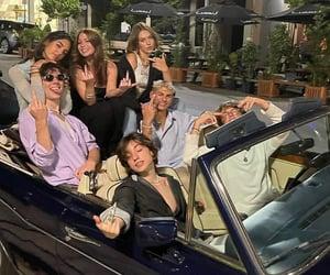 boys, car, and friendship image