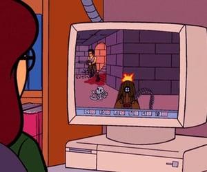 cartoons, y2k, and Daria image