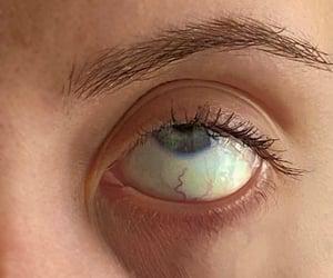 blue, polarr, and eye image