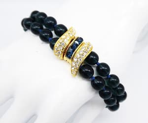 blue beads, etsy, and hard to find image
