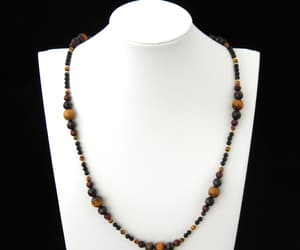 etsy, vintage necklace, and natural stone image