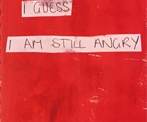 anger, angry, and quote image