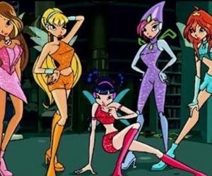 cartoons, magical girl, and girl power image