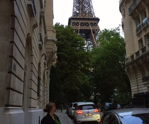 france, parisienne, and eiffel tower image