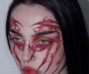 alternative, beauty, and eyeliner image
