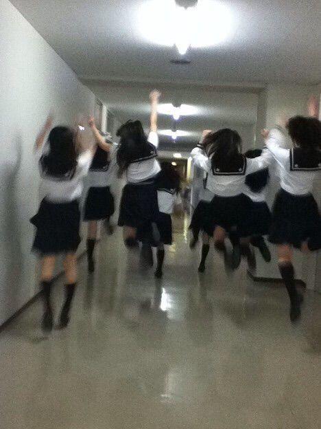 girl, school, and japan image