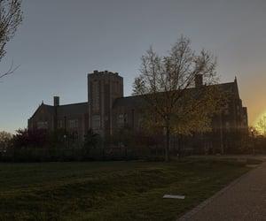 academia, gothic, and hogwarts image