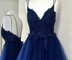 dresses, evening dress, and girl image
