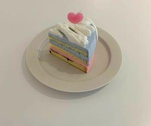 cake slice and fork? image