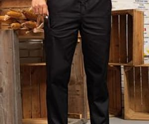 chef trousers slim fit image