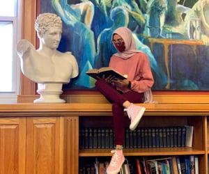 academia, bookshelf, and education image