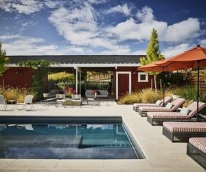 swimming pool, pool design ideas, and pool area image
