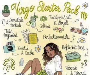 aesthetic, astrology, and virgo image