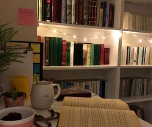 book, books, and cozy image