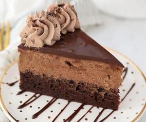 cake, yummy, and chocolat image
