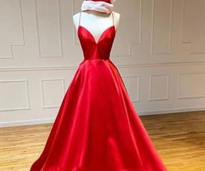 ball gown, evening gown, and formal wear image