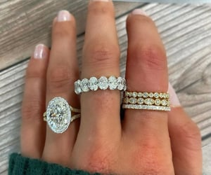 diamonds and engagement ring image