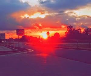 beautiful, big sky, and colors image