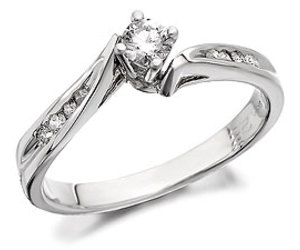 diamond, engagement, and ring image