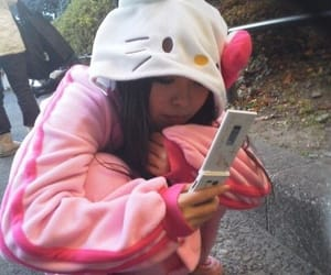 hello kitty, pink, and icon image