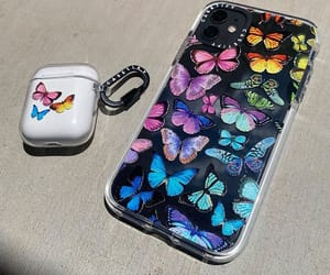 accessories, butterflies, and case image