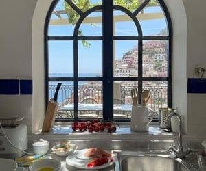 Amalfi coast, home, and italy image