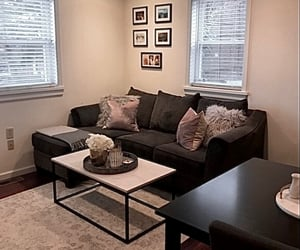 apartment, couch, and Dream image