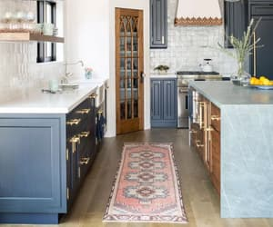 blue, home, and kitchen image