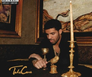 aesthetic, take care, and album cover image