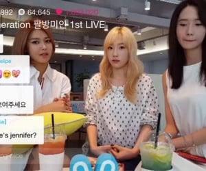 Jennifer, kim taeyeon, and friends image