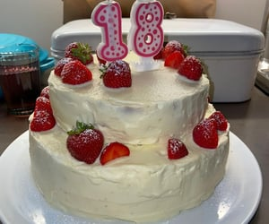 18, bday, and birthday cake image
