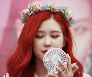 rose, kpop icons, and ulzzang icons image
