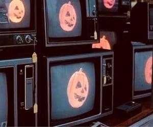 Halloween, grunge, and tv image