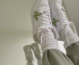 green, aesthetic, and shoes image