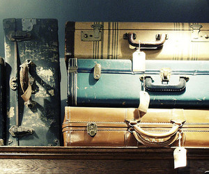 vintage and suitcase image