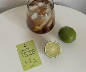 drink, lime, and kpop aesthetic image