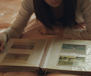 aesthetic, books, and dark image