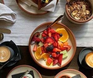 blackberries, breakfast, and food image