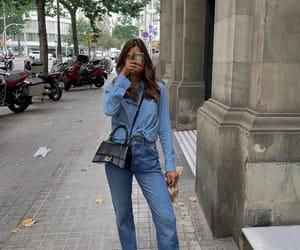 Balenciaga, blogger, and denim image