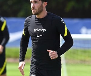 Chelsea FC, training, and ben chilwell image