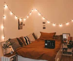 home, bedroom, and cozy image