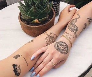 tattoo, aesthetic, and art image