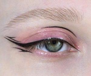 aesthetic, eyeliner, and black image